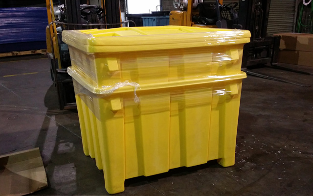 Nested Bulk Storage Container for Shipping or Storage
